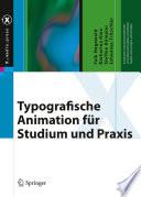 Typografische Animation für Studium und Praxis