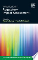 Handbook of Regulatory Impact Assessment
