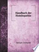 Handbuch der Hom?opathie