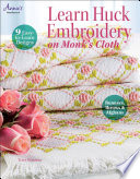 Learn Huck Embroidery on Monk s Cloth