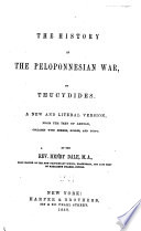 The History Of The Peloponnesian War : ...