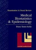 Medical biostatistics   epidemiology