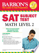 SAT Subject Test Math Level 2  11th ed