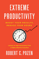 download ebook extreme productivity pdf epub