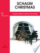 Schaum Christmas  A  The Red Book