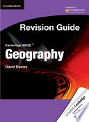 Cambridge IGCSE Geography Revision Guide Student s Book