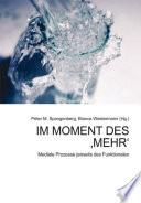 """Im Moment des """"Mehr"""""""