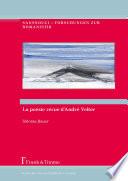 La « poésie vécue » d'André Velter
