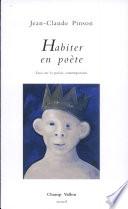 illustration du livre Habiter en poète
