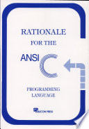 Rationale for the ANSI C Programming Language