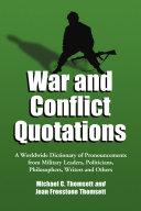 download ebook war and conflict quotations pdf epub