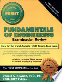 Fundamentals of Engineering Examination Review 2001 2002 Edition