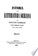 Istoria della letteratura siciliana