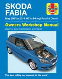 Skoda Fabia Petrol And Diesel Owners Workshop Manual