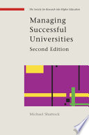 Managing Successful Universities