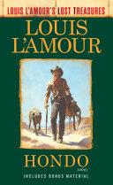 Hondo (Louis L'Amour's Lost Treasures) Book