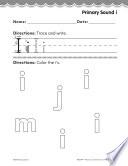 Pre Kindergarten Foundational Phonics Skills  Primary Sound i