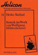 Komik im Werk von Wolfgang Hildesheimer