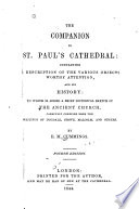 The Companion to St  Paul s Cathedral  Etc Book PDF