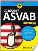 2016   2017 ASVAB For Dummies
