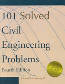 101 Solved Civil Engineering Problems