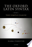 The Oxford Latin Syntax