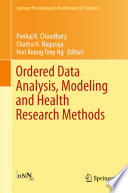 Ordered Data Analysis  Modeling and Health Research Methods
