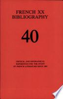 French XX Bibliography