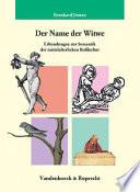 Der Name der Witwe