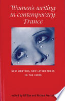 Women s Writing in Contemporary France