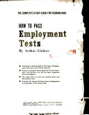 How to pass employment tests