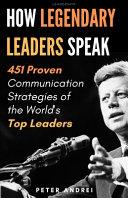 Book Leadership
