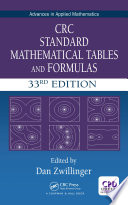 Crc Standard Mathematical Tables And Formulas 33rd Edition