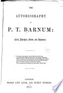 The Autobiography Of P T Barnum