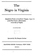 The Negro in Virginia