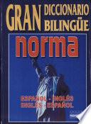 Gran diccionario biling  e norma