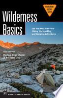 Wilderness Basics 4th Edition