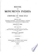 Recueil des monuments in  dits de l histoire du Tiers Etat