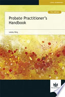 Probate Practitioner s Handbook