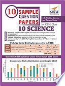 10 Sample Question Papers For Cbse Class 10 Science With Marking Scheme Revision Notes