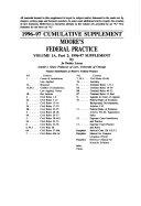 Moore s Federal Practice