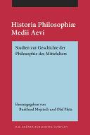 Historia Philosophiae Medii Aevi