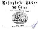 Scherzhafte Lieder Mit Melodien Zwote Auflage