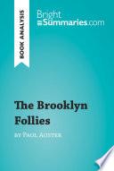 The Brooklyn Follies By Paul Auster Book Analysis  book