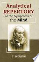 Analytical Repertory of the Symptoms of the Mind