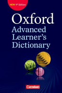 Oxford Advanced Learner s Dictionary B2 C2  W  rterbuch  Kartoniert