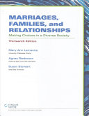 Marriages  Families  and Relationships
