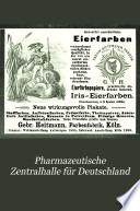 Pharmazeutische Zentralhalle für Deutschland