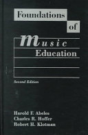 Foundations Of Music Education book