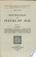 Psychologie des Fleurs de Mal: IV (Vol. 1) L'Homme
